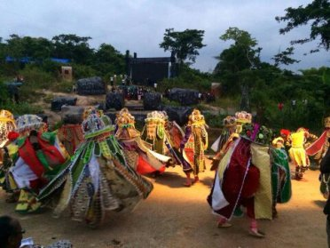 Gelede Masquerades, Yewa, Ogun State