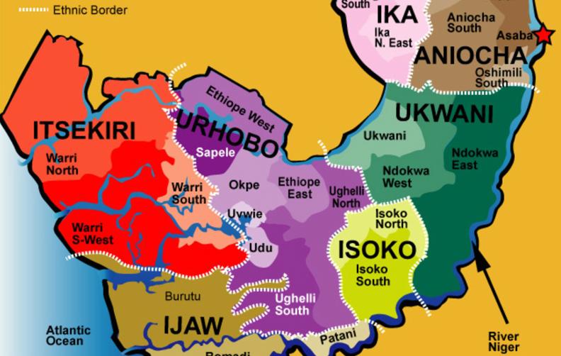 Remove Itsekiri land from your Biafran maps to avoid civil war